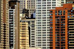 抽象大厦构成视窗 免版税库存图片