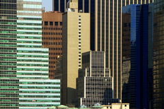 抽象大厦构成视窗 图库摄影