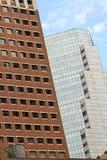 抽象大厦构成视窗 免版税图库摄影