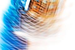 抽象大厦视图 免版税图库摄影