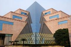 抽象大厦设计 库存图片