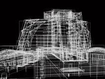 抽象大厦 库存例证