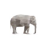 抽象大象 免版税库存图片