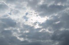 抽象天空、背景和纹理 免版税库存照片