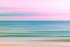 抽象天空和海洋自然背景 免版税库存照片