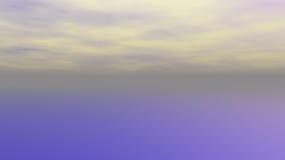 抽象天空以宽银幕格式 库存图片