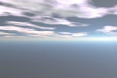 抽象天空 免版税库存照片