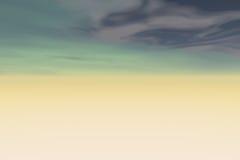 抽象天空 免版税库存图片