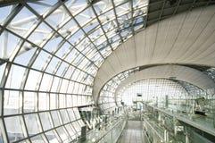 抽象天花板内部背景 库存照片