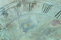 抽象太阳拨号盘背景 库存图片