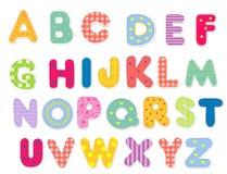 抽象字母表 免版税库存照片