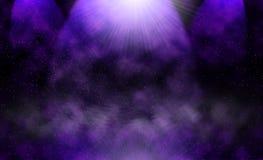 抽象宇宙背景 向量例证