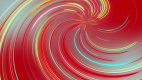 抽象宇宙,未来派隧道,亢奋跃迁到星系里,光速霓虹发光,3d回报 皇族释放例证