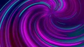 抽象宇宙,未来派隧道,亢奋跃迁到星系里,光速霓虹发光,3d回报 库存例证