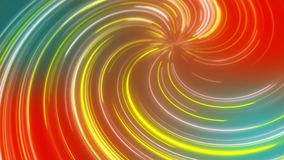 抽象宇宙,未来派隧道,亢奋跃迁到星系里,光速霓虹发光,3d回报 向量例证