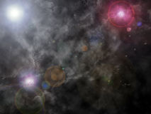 抽象宇宙 免版税库存照片
