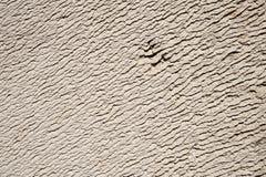 抽象宏指令,纹理类似沙漠的沙丘一块老硅酸盐白色砖的特写镜头 免版税图库摄影