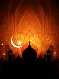 抽象宗教eid背景 皇族释放例证
