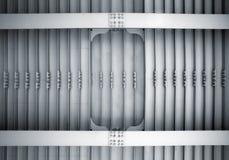 抽象射线螺栓建筑钢 免版税库存图片