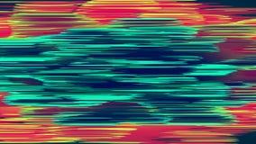 抽象小故障背景 五颜六色的噪声样式 信息畸变 向量例证