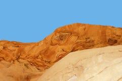 抽象峡谷上色了本质 免版税图库摄影