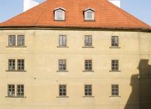 抽象布拉格 免版税库存图片