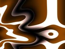 抽象广告,棕色和白色变形了背景patte 免版税库存照片