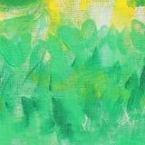 抽象异常的新黄色和绿色背景纹理 库存照片