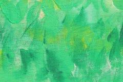 抽象异常的新黄色和绿色背景纹理 免版税库存图片