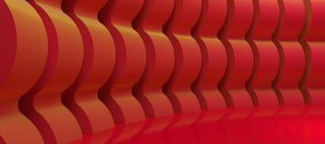 抽象形状墙壁 库存例证