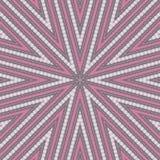 抽象形状对角线转动在灰色和桃红色的样式 免版税库存图片
