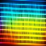 抽象彩虹光亮的背景 库存图片