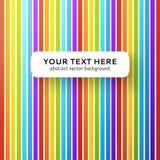抽象彩虹背景。 免版税库存照片