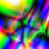 抽象彩虹背景和纹理 荧光的网眼图案 免版税图库摄影