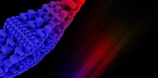 抽象彩虹背景 免版税库存图片