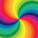 抽象彩虹 皇族释放例证