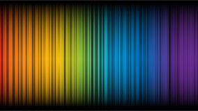 抽象彩虹 库存照片