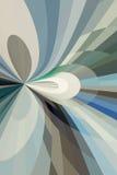 抽象循环光芒 库存图片