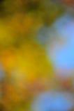 抽象心情背景在布朗橙色金子和蓝色 免版税库存图片