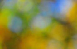 抽象心情背景在布朗绿色和蓝色 免版税图库摄影