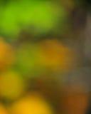 抽象心情背景在布朗绿色和蓝色 图库摄影
