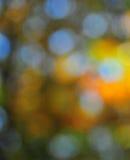 抽象心情背景在布朗绿色和蓝色 免版税库存图片