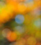抽象心情背景在布朗绿色和蓝色 免版税库存照片