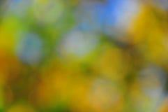 抽象心情背景在布朗绿金和蓝色 免版税图库摄影