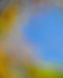 抽象心情背景在布朗绿金和蓝色 库存图片