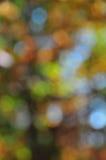 抽象心情背景在布朗绿金和蓝色 库存照片