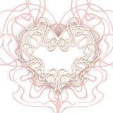抽象心脏传染媒介例证eps 10 -储蓄传染媒介准备好您的设计,贺卡,横幅 也corel凹道例证向量 Gentl 皇族释放例证