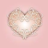 抽象心脏传染媒介例证eps 10 -储蓄传染媒介准备好您的设计,贺卡,横幅 柔和的颜色 库存例证
