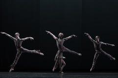 抽象意思古典芭蕾` Austen汇集` 库存照片