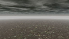 抽象意想不到的风景灰色 股票视频